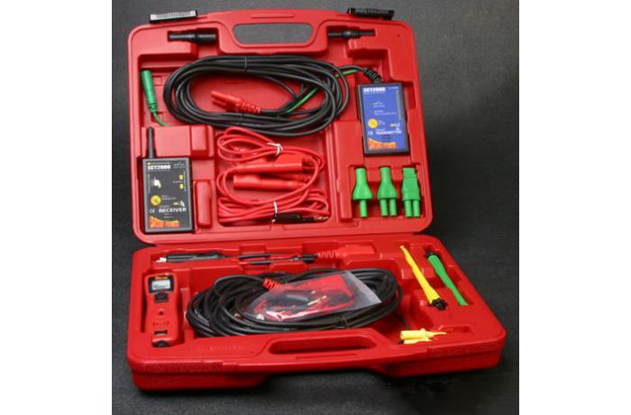 kit de prueba con punta lgica y detector de circuitos abiertos y en corto